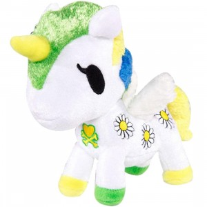 Tokidoki Margherita Unicorno Plush (white / green / blue)