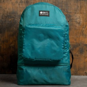 BAIT Lightweight Packable And Detachable Sneaker Nylon Backpack (teal / turqoise)