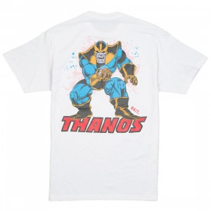 BAIT x Marvel Thanos Men Power Stance Glow In The Dark Tee (white)