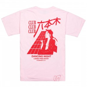 10 Deep Men Dancing Night Tee (pink)