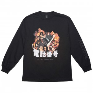 10 Deep Men Ex Files Long Sleeve Tee (black)