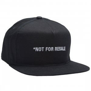 10 Deep Grailed Snapback Cap (black)
