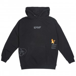 BAIT Exclusive 10 Deep x Pokemon Men Fire Strike Hoody (black)
