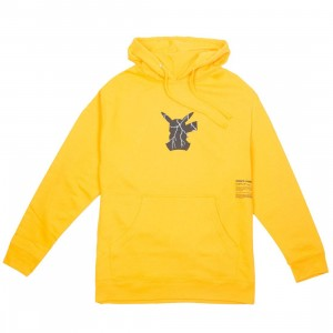 BAIT Exclusive 10 Deep x Pokemon Men Shadow Shock Hoody (yellow)