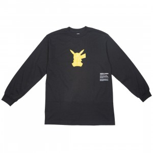 BAIT Exclusive 10 Deep x Pokemon Men Shadow Shock Long Sleeve Tee (black)
