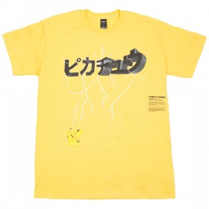 BAIT Exclusive 10 Deep x Pokemon Men Lightning Strike Tee (yellow)