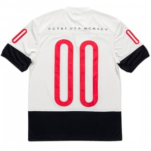 10 Deep Tech Mesh Jersey Shirt (white / off white)
