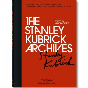 The Stanley Kubrick Archives By Alison Castle Book (black / hardcover)