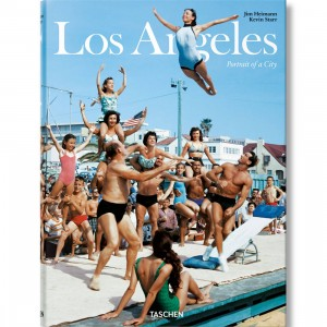 Los Angeles Portrait Of A City Book (blue)