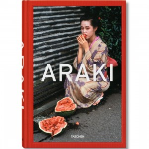 Araki By Araki Book (red / hardcover)