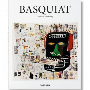 Basquiat By Leonhard Emmerling Hardcover Book (white / hardcover)