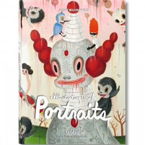 Illustration Now Portraits By Julius Widemeann Book (pink / hardcover)