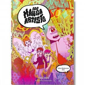 100 Manga Artists Book (pink / hardcover)