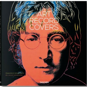 Art Record Covers By Francesco Spampinato Book (black / hardcover)