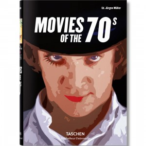 Movies of the 70s By Jurgen Muller Book (black / hardcover)