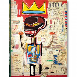 Jean-Michel Basquiat by Holzwarth Book - XXL (yellow / hardcover)