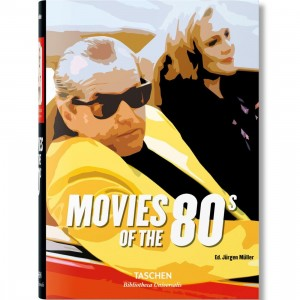 Movies of the 80's By Jurgen Muller Book (black / hardcover)