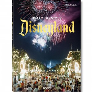 Walt Disney's Disneyland By Chris Nichols Book (black / hardcover)