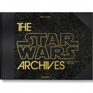 The Star Wars Achives 1977-1983 By Paul Duncan XXL Book (black / hardcover)