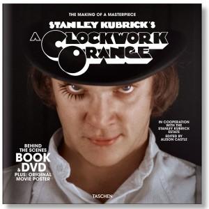 Stanley Kubrick's A Clockwork Orange Book And DVD Set (black)