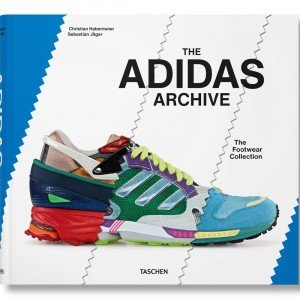 The Adidas Archive The Footwear Collection Hardcover Book (white / blue)