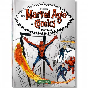 The Marvel Age Of Comics 1961-1978 Hardcover Book (gray)
