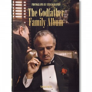 The Godfather Family Album Hardcover Book By Steve Schapiro (black)