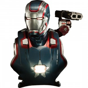 Sideshow Collectibles Iron Patriot  Iron Man 3 Life-Size Bust (blue / red)