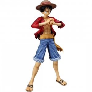 One Piece Monkey D Luffy Portrait Of Pirates Sailing Again Figure (red)