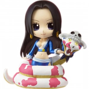 One Piece Boa Hancock With Salome Chibi Arts Figure (blue)