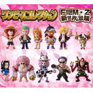 One Piece Film Z Adventure To The New World Collectible Figure - Set Of 12