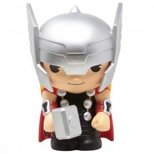 Monogram Marvel Avengers Thor Figural Bust Bank (silver)