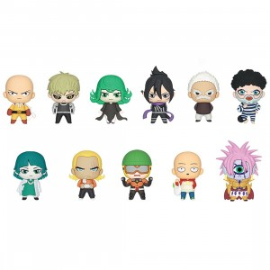 Monogram One Punch Man Figural Bag Clip - 1 Blind Box