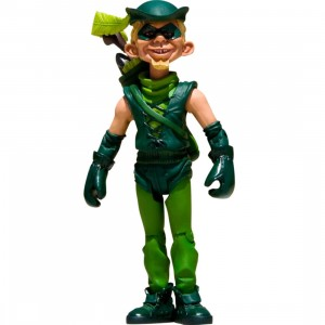 Mad Magazine Green Arrow Just Us League Action Figure (green)