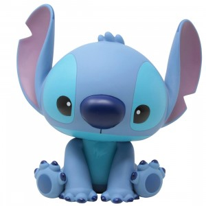 Monogram Disney Lilo And Stitch Stitch Figural PVC Bank (blue)