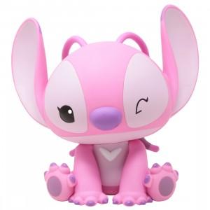 Monogram Disney Lilo And Stitch Angel Figural PVC Bank (pink)