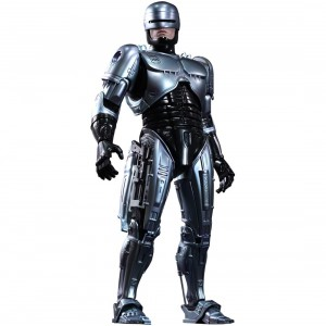 Hot Toys Robocop 1/6 Scale Collectible Figure (silver)
