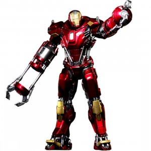 Hot Toys Iron Man 3 Red Snapper Mark 35 1/6 Scale Collectible Figure (red)