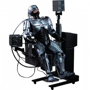Hot Toys Robocop With Mechanical Chair 1/6 Collectible Figure (silver)