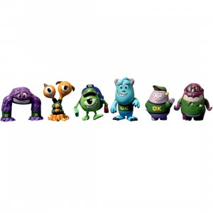 Hot Toys Disney Pixar Monster University Cosbabies Collectible Figure - Set of 6