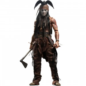Hot Toys Tonto The Lone Ranger 1/6 Scale Collectible Figure (brown)