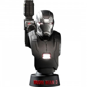 Hot Toys Iron Man 3 War Machine Mk 2 1/6 Scale Bust Figure (black)