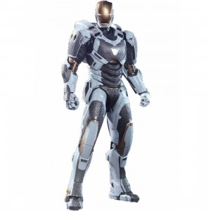Hot Toys Iron Man Starboost Mark XXXIX 1/6 Scale Collectible Figure (gray / black)