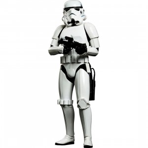 Hot Toys Stormtrooper A New Hope 1/6 Scale Collectible Figure (white)