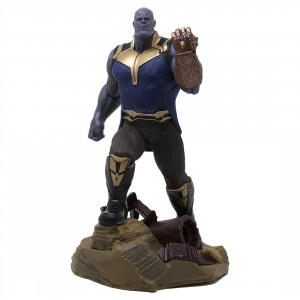 Diamond Select Toys Marvel Galler Avengers 3 Thanos PVC Figure (blue)