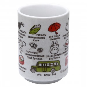 Studio Ghibli Benelic My Neighbor Totoro And Friends Japanese Teacup (white)
