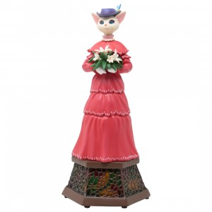 Studio Ghibli Benelic Whisper Of The Heart Luise Statue Music Box (red)
