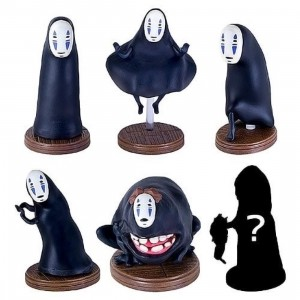 Studio Ghibli Benelic Spirited Away No Face So Many Poses Figure - 1 Blind Box