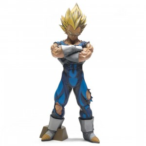 Banpresto Dragon Ball Z Grandista Super Saiyan Vegeta Manga Dimensions Figure (blue)