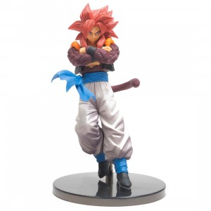 Banpresto Dragon Ball Super Son Goku Fes!! Vol 7 Super Saiyan 4 Gogeta Figure (red)